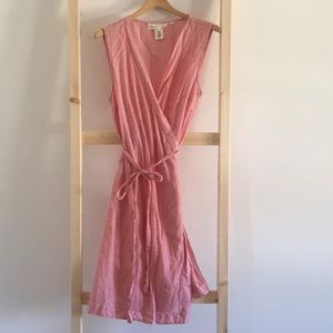 3/$22 H&M Linen Wrap Dress